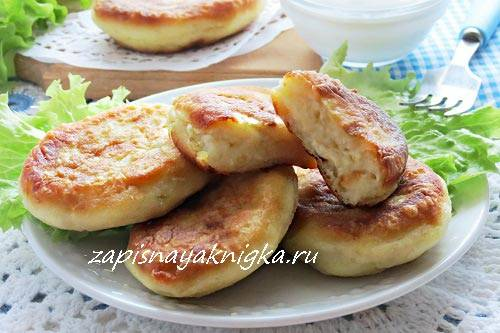 Котлеты из скумбрии консервированной, риса и картошки