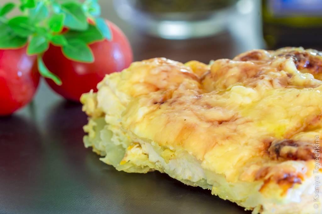 Картофельная запеканка с курицей — вкусный рецепт к ужину