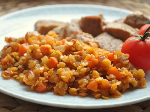 Каша из чечевицы – 7 простых и вкусных рецептов