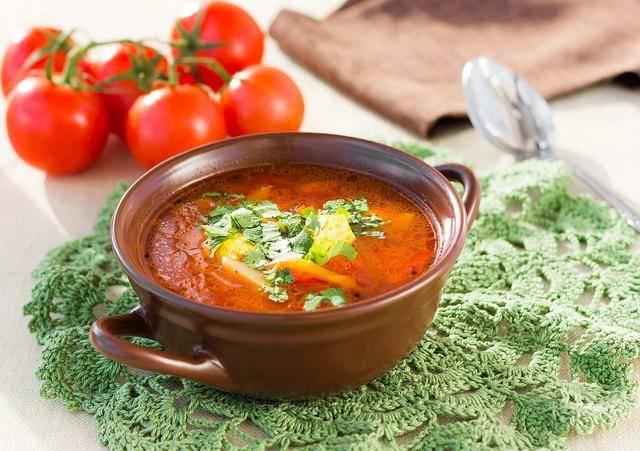 Суп с адыгейским сыром / рецепт с фото