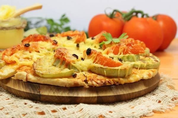 Кабачковая пицца