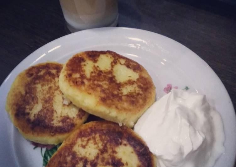 Как приготовить картофельныйе драники с сыром по пошаговому рецепту