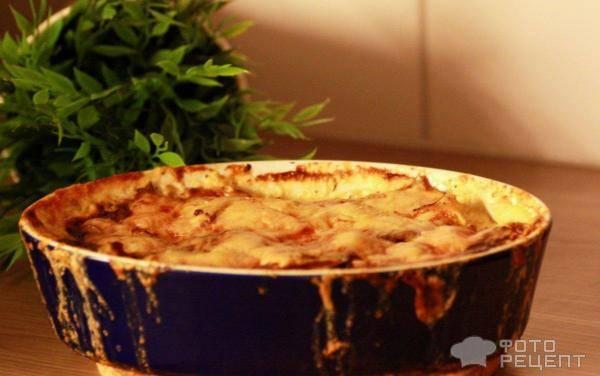 С луком | картофельная запеканка – сытное и простое блюдо