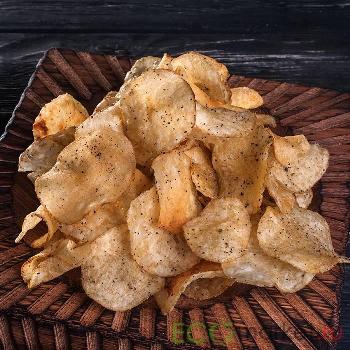 Картофельные чипсы в шоколаде - необычная закуска