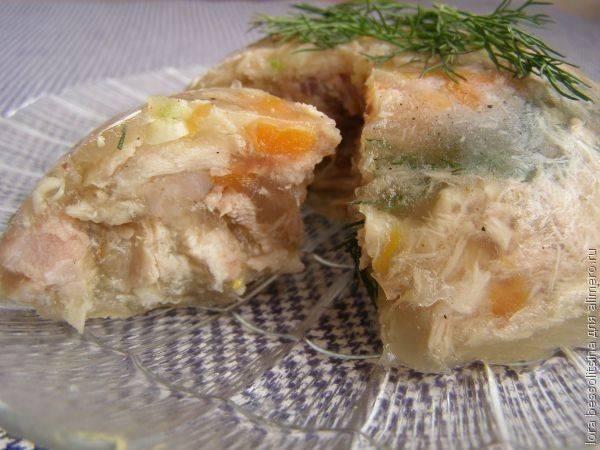 Холодец из свиных ножек (с курицей, говядиной): фото-рецепты