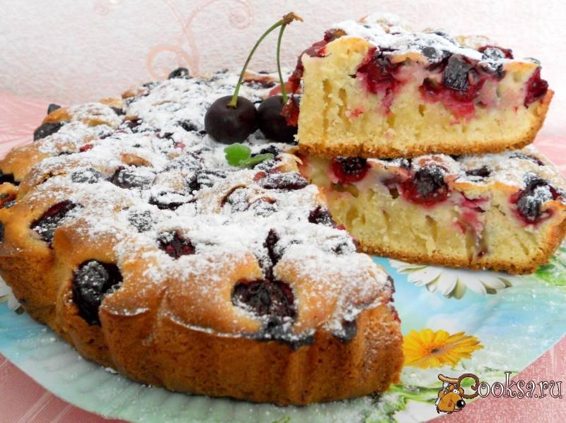 Пирог на кефире, вкусные рецепты с фото