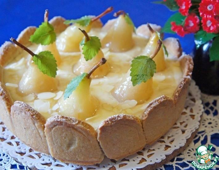 Быстрый пирог с грушами - рецепт с фотографиями - patee. рецепты