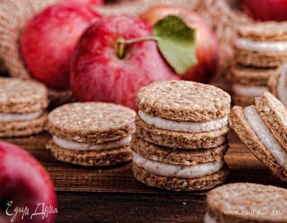 Яблоки, запеченные с медом и корицей - 8 пошаговых фото в рецепте