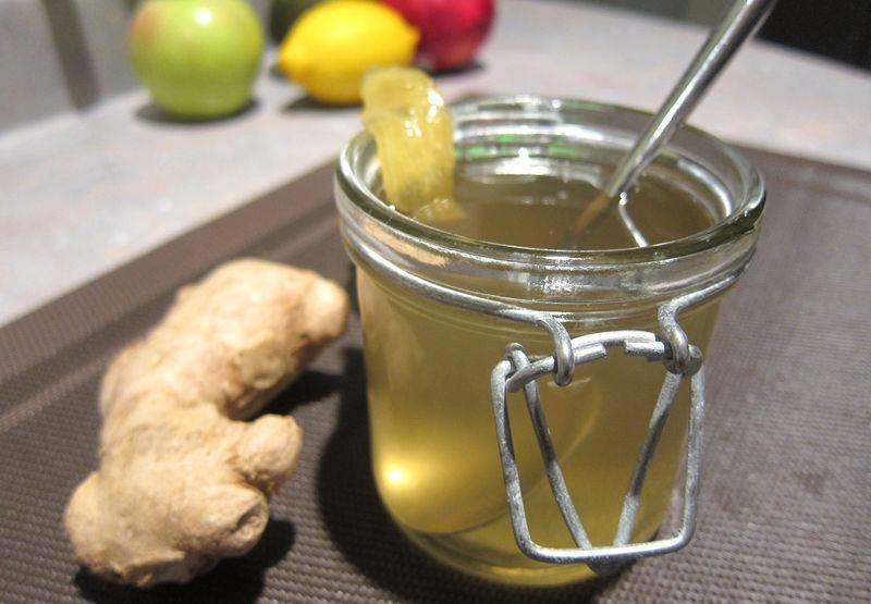Имбирный сироп – чудесный продукт для вашего здоровья