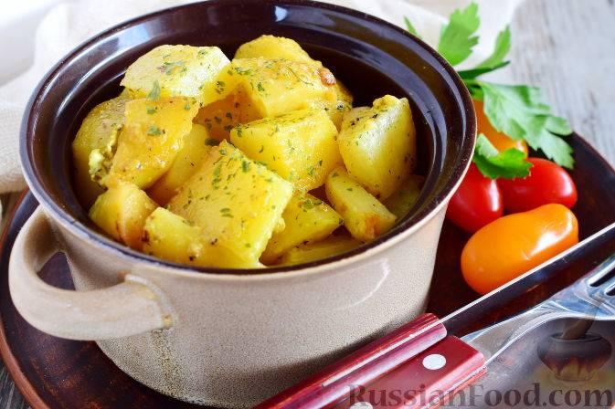 Готовим вкусный картофель в микроволновке быстро и просто