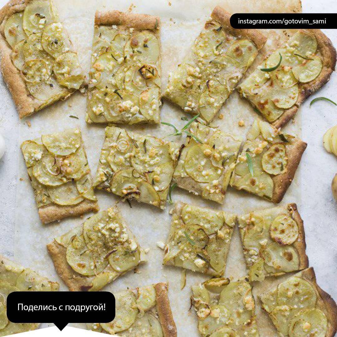 Деревенская пицца — пальчики оближешь!