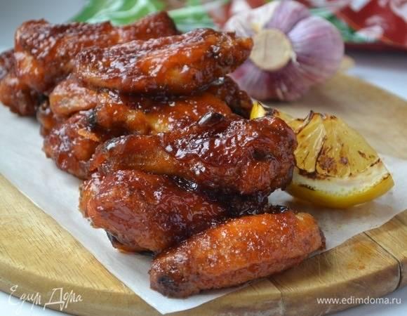 7 лучших рецептов куриных крылышек