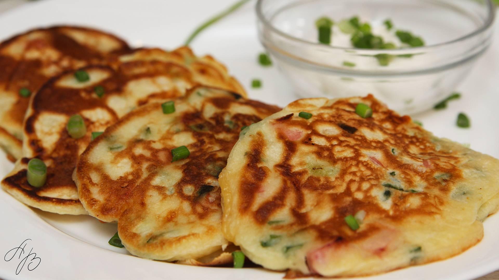 Ленивые пирожки с яйцом и луком зеленым