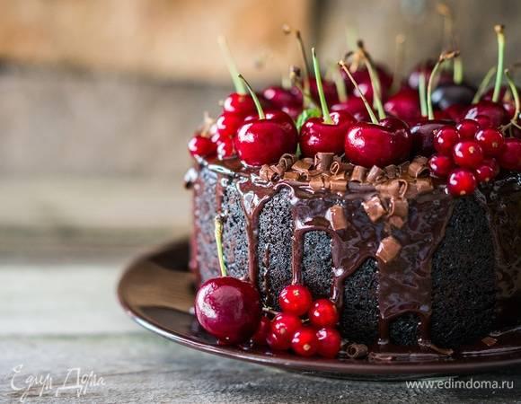 Шоколадный торт от энди шефа, с кремом чиз, с заварным кремом, маскарпоне, фруктами и без выпечки