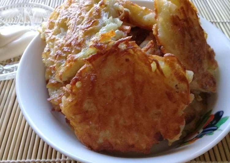 Деруны картофельные рецепт пошаговый рецепт с фото