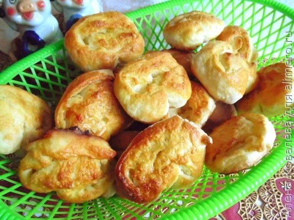 Вкусные булочки из дрожжевого теста  - рецепты с фото