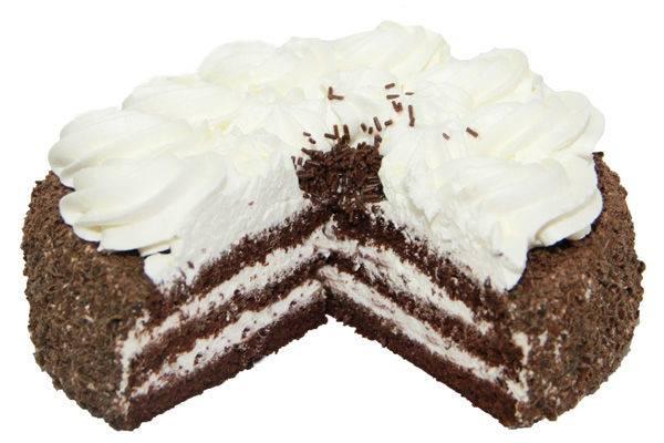 Торт негр в пене