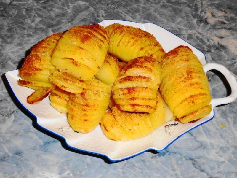 Картофель в хрустящей корочке