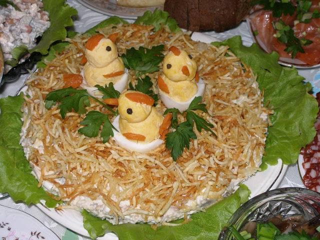 "Печенье ""гнездо кукушки"""