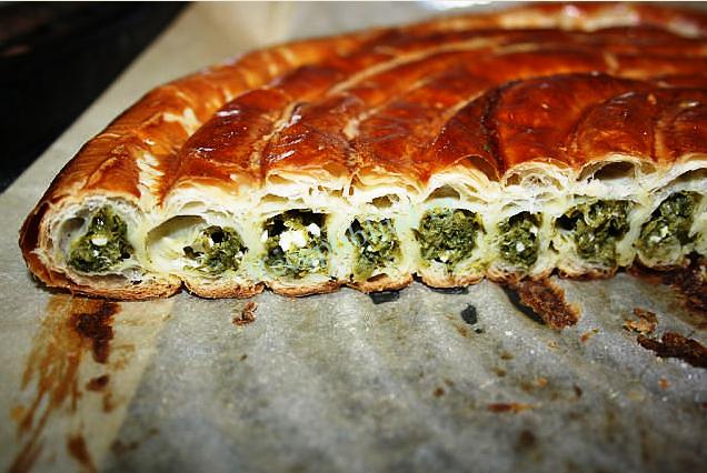 Пирог со шпинатом и сыром. пошаговый рецепт с фото • кушать нет