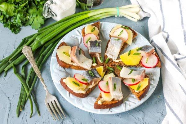 Салат из печени трески / рецепт с фото