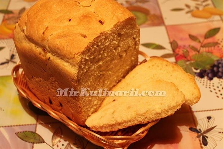 Хлеб с паприкой и луком в хлебопечке