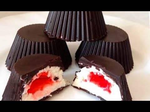 Творожные сырки в шоколаде домашние
