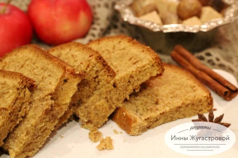 Хлеб яблочный на закваске в хлебопечке