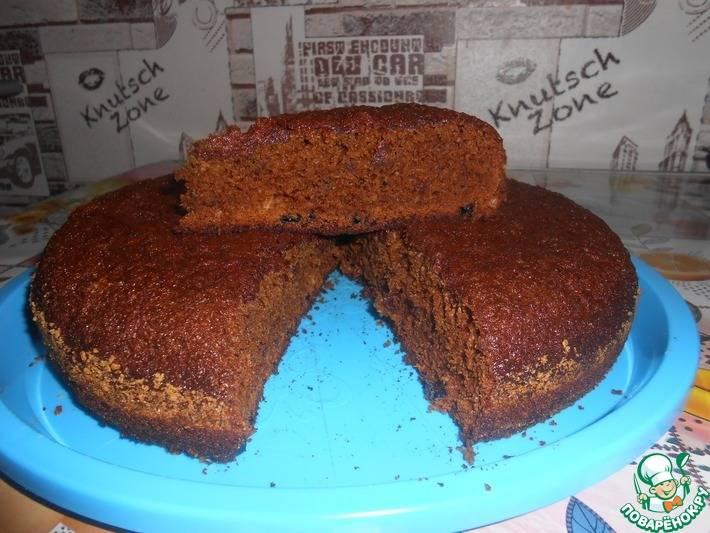 Домашний торт на чае
