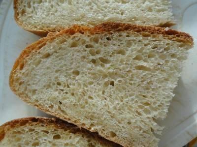 Итальянский хлеб чиабатта с кукурузной мукой