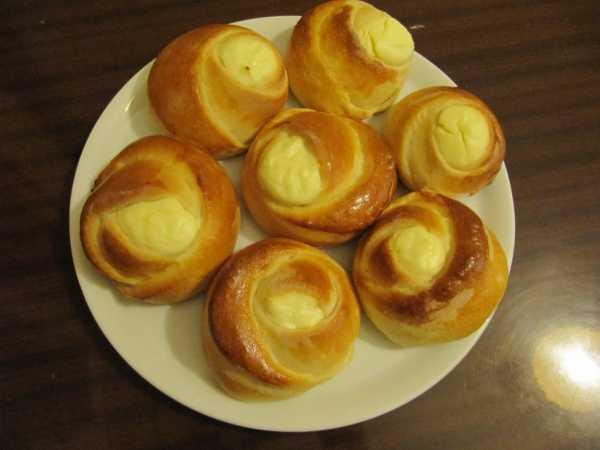 Вкуснейшие булочки «розочки» с сахаром к чаю