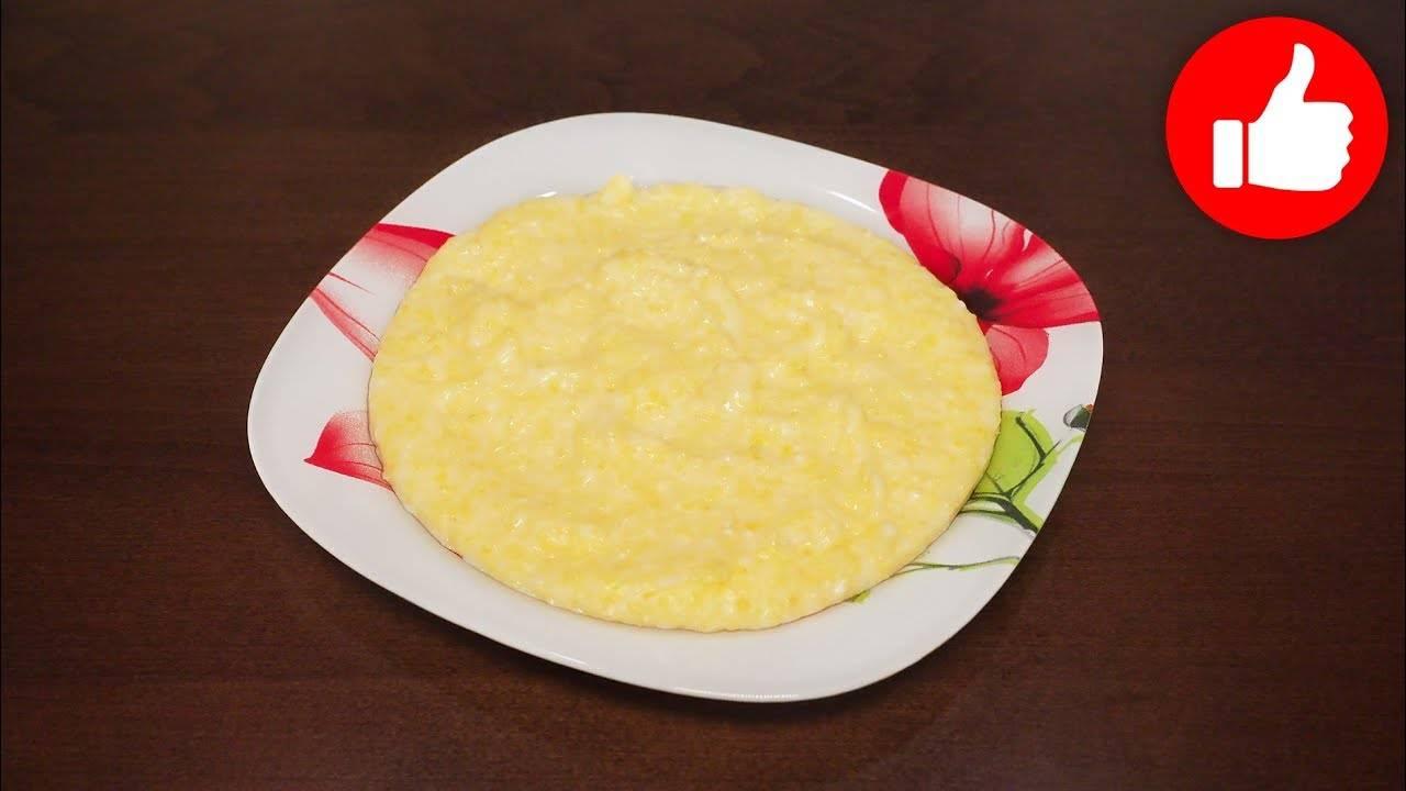 Кукурузная каша в мультиварке на воде - 11 пошаговых фото в рецепте