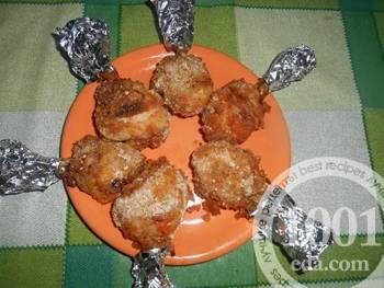 Куриные «чупа-чупсы»