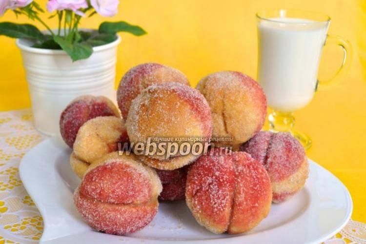 Пошаговый рецепт пирожного «персик» с фото