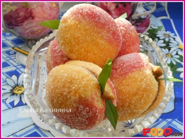 """Пирожные """"персики"""" с маскарпоне"""