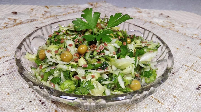 Салаты с зеленым горошком » рецепты - готовим дома | «наобед.kz»