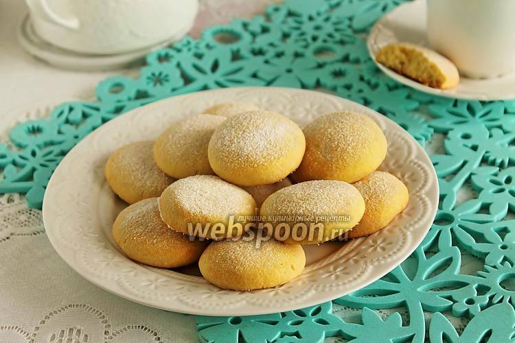 Печенье кукурузное из детской растворимой каши
