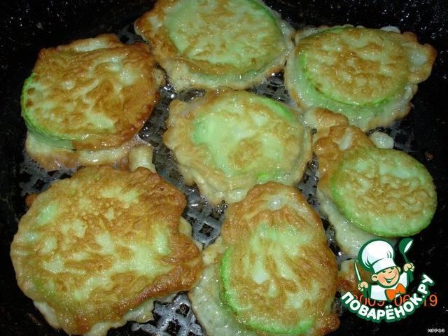 Кабачки в кляре. пошаговый рецепт с фото • кушать нет