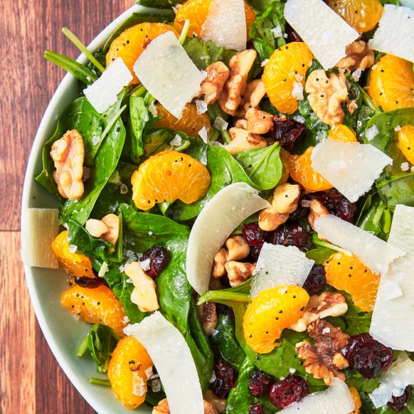 Изысканный салат с мандаринами за 20 минут