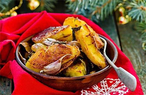 Как приготовить картошку по-деревенски с хрустящей корочкой