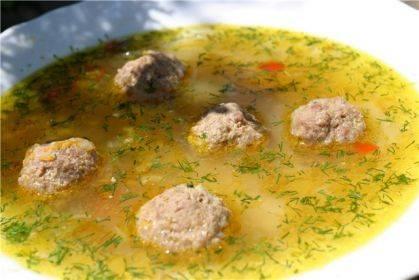 Суп с фрикадельками в мультиварке: рецепт на курином бульоне | готовим в мультиварках