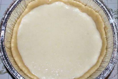 Песочный пирог с лимоном