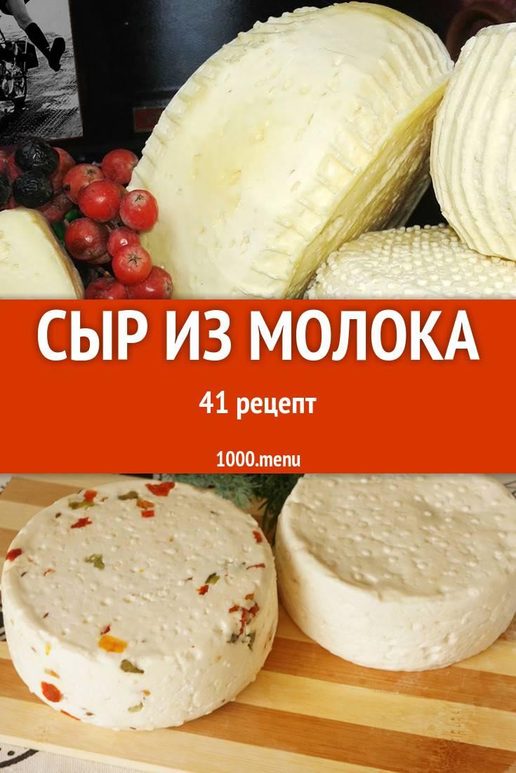 Сыр в домашних условиях из молока - простой рецепт с фото пошагово: видео