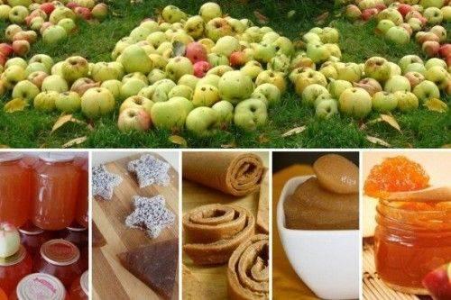 Пастила из сливы и яблок с ванилином