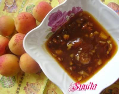 Абрикосовое варенье с грецкими орехами, рецепт. абрикосовое варенье с фундуком