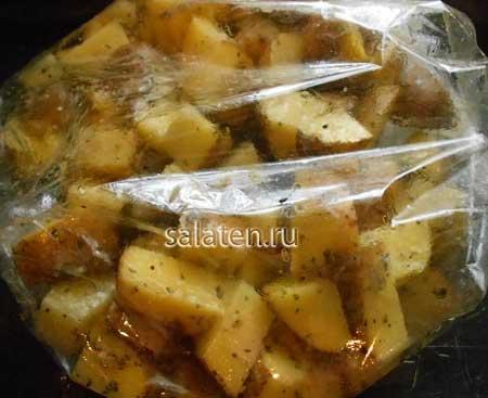 Картофель по-деревенски в духовке — пошаговый рецепт приготовления в домашних условиях
