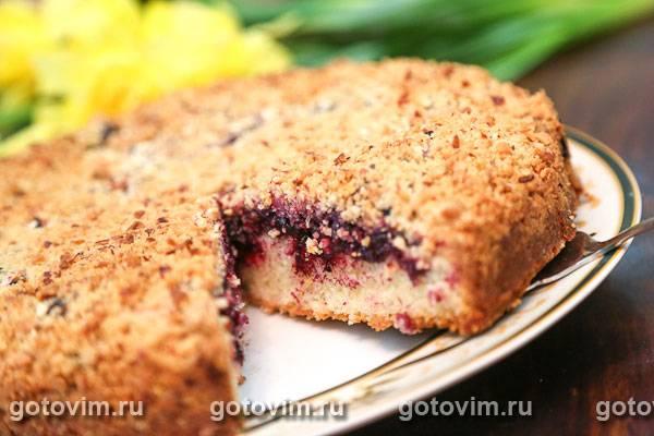 Рецепт: пирог крошка