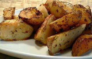 Рецепты из картофеля с уксусом. хрустящий картофель, запечённый с уксусом и солью