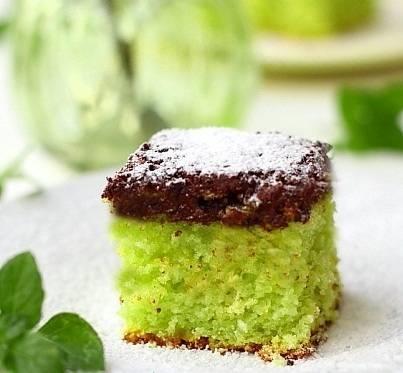 Рецепты кексы с мятой