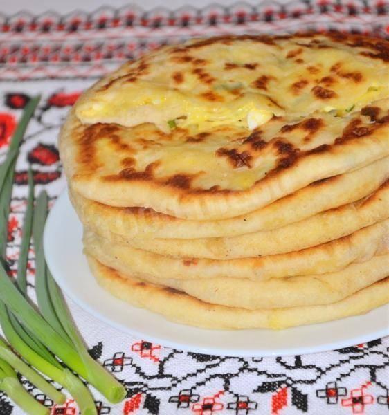 Паляница (лепешка по-крестьянски) - 10 пошаговых фото в рецепте